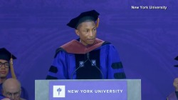 2017 Commencement: Pharrell Williams' Full NYU Speech