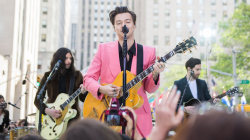 See Harry Styles perform 'Carolina' live on TODAY