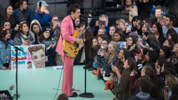 Watch Harry Styles perform 'Ever Since New York' on the TODAY plaza
