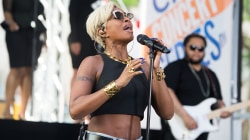 Watch Mary J. Blige perform 'U + Me (Love Lesson)' live on TODAY