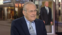 Donald Rumsfeld: Trump gets 'pretty good marks on picking people'