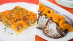 Grandma's egg surprise vs. cocoa tangerine pancakes: TODAY's Ultimate Cook-Off