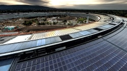 Apple's new headquarters in Cupertino: TODAY shares a first look