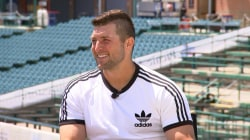 Tim Tebow talks about his faith and his new book, 'Know Who You Are'