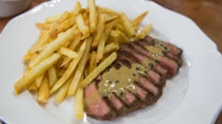 Make delicious steak frites with 3 different sauces