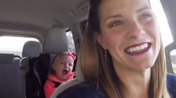 Watch parents get constantly interrupted by toddler
