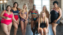 Women strip down to embrace their beauty ahead of swimsuit season