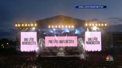 50,000 Turn Out in Manchester for Ariana Grande Benefit Concert