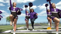 Sheinelle Jones visits her alma mater, Northwestern University