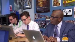 Al Roker goes back to his old high school (and gets a pop science quiz)