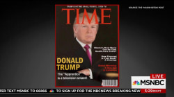 Fake Trump Time Magazine cover hangs at Mar-a-Lago
