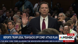 Reports: Trump legal team backs off Comey attack plan... for now