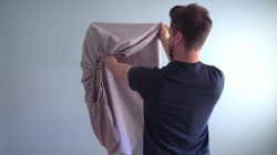 Yes, you CAN fold a fitted sheet neatly