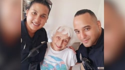 Cop brings elderly woman who lost her wallet to tears with kind gesture