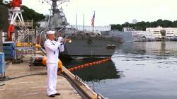 Fallen U.S. Sailors Honored In Navy Memorial