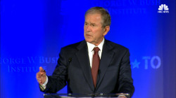 George W. Bush to Vets: We Can Defeat the Stigma of Post-Traumatic Stress