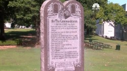 Man Destroys 2 Sate Capital Ten Commandments Monuments in 3 Years