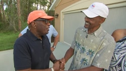 Watch Al Roker surprise this deserving dad with a live backyard barbecue