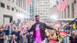 Watch Andy Grammer perform 'Honey, I'm Good' on the TODAY plaza
