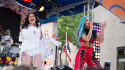 See Halsey perform 'Strangers' with Lauren Jauregui of Fifth Harmony live on TODAY