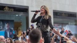 Watch Shania Twain sing 'Life's About To Get Good' on the TODAY plaza
