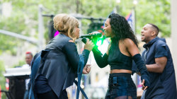 See TLC perform new single 'Way Back' live on the TODAY show