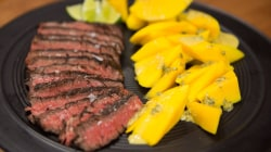 Grilled citrus-mango skirt steak: A recipe dad will love on Father's Day