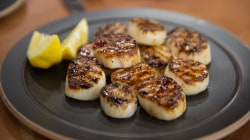 Make Al Roker's delicious grilled scallops and low-fat potato salad