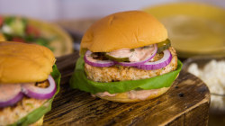 Salmon burgers with watermelon salad: Make this easy, healthy dinner