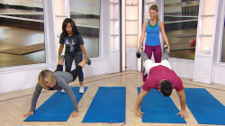 Work out with a friend doing these fun partner exercises