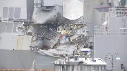 Bodies of missing US sailors found in flooded compartments of damaged Navy ship