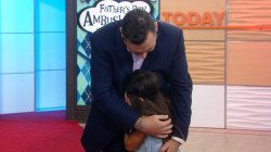 Watch this little girl cry when she sees her dad's dramatic Ambush Makeover