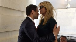 Sen. Marco Rubio dismisses awkward hug with Ivanka Trump