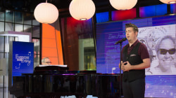 Broadway's Eric Petersen performs song inspired by Trevor Harris' Tourette's PSA
