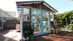 Introducing the 'she shed': Women's answer to the man cave