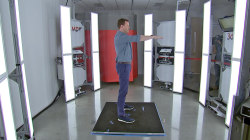 Watch Willie Geist get a 3D model of himself at the Under Armour factory