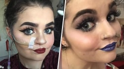 How 1 makeup artist embraces her feeding tube