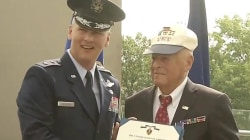 70 years later, World War II veteran honored with Purple Heart