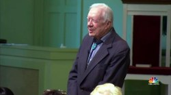 Former Pres. Carter Returns to Teach Sunday School After Health Scare