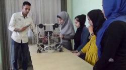 Afghan Girls Robotics Team Arrives in U.S. Intervention from Trump