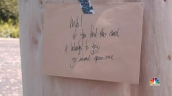 Woman's Anonymous Notes Bring Hope to Strangers