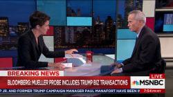 Trump finances part of Russia investigation