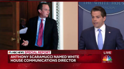 Scaramucci Clarifies Working Relationship with Reince Priebus