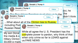Trump Claims 'Complete Power to Pardon' in Tweetstorm