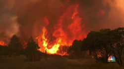 Eight Massive Wildfires Rage Across California