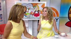 Trish McEvoy body cream, Emoji Ink app: KLG and Hoda's Favorite Things