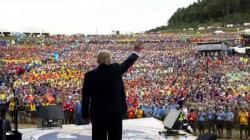 Trump talks politics with Boy Scouts amid Russia probe