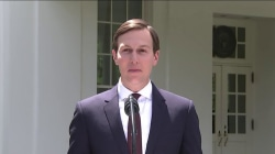 Kushner addresses Russia questions from White House driveway
