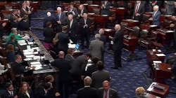 John McCain Receives Standing Ovation During Senate Return
