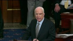 'We're Getting Nothing Done!' Sen. McCain Says in Return to Senate
